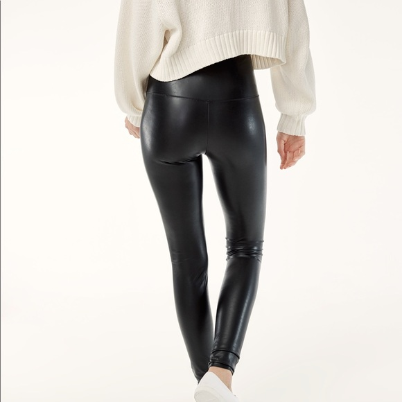 9694cfd912270 Aritzia Pants | Wilfred Free Daria Faux Leather Leggings | Poshmark